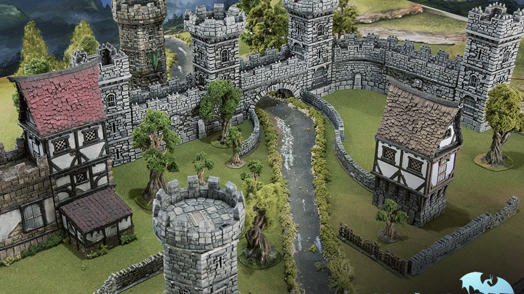 WINTERDALE: Medieval Fantasy Citadel Collection for 28mm project video thumbnail