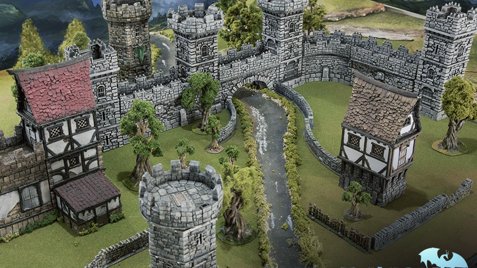 Winterdale is a beautifully designed medieval fantasy citadel collection for 28mm gaming. Winterdale is modular and can be customized