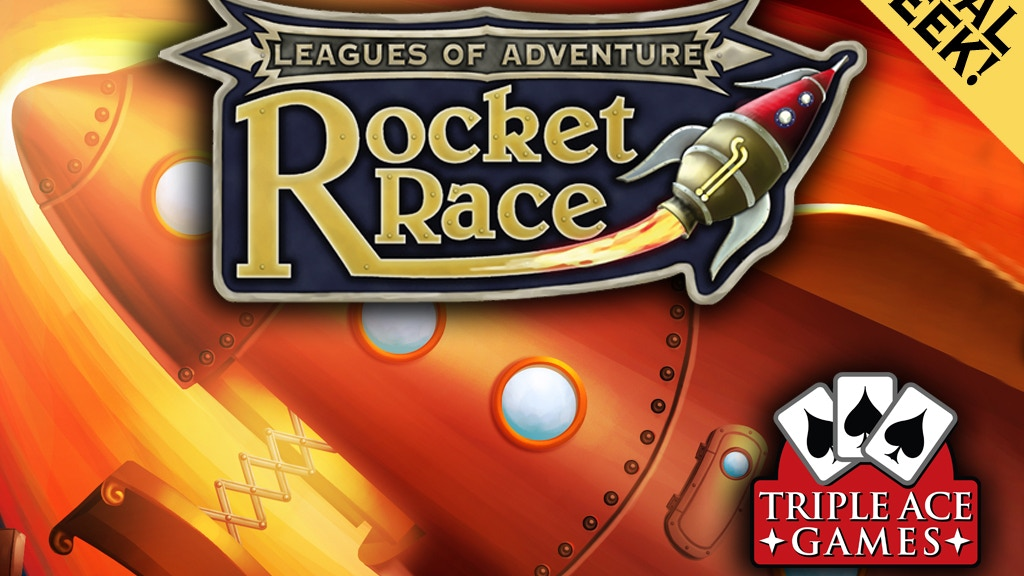 Rocket Race: A Steampunk Rocket Building Card Game project video thumbnail