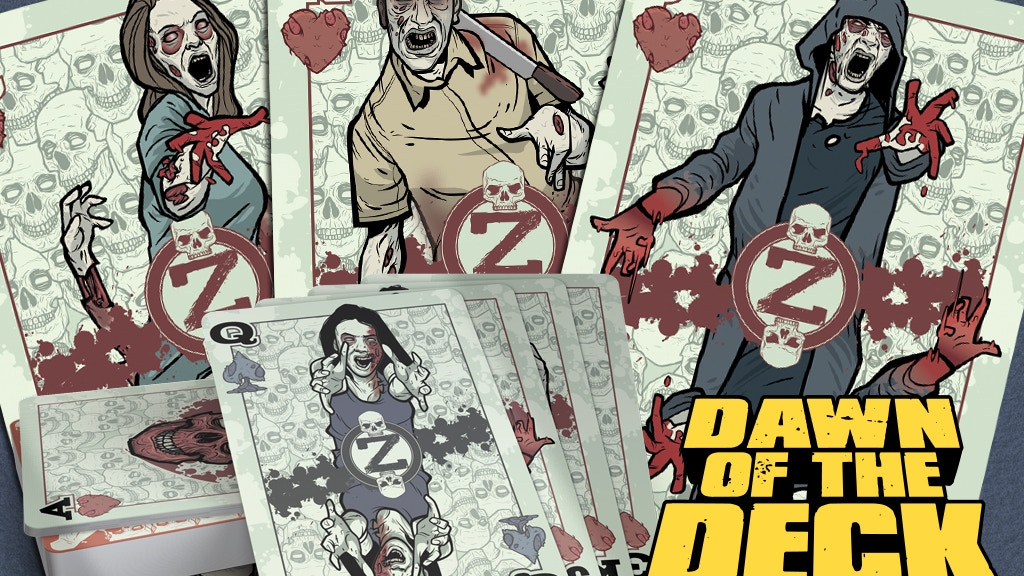 Zombie Playing Cards project video thumbnail