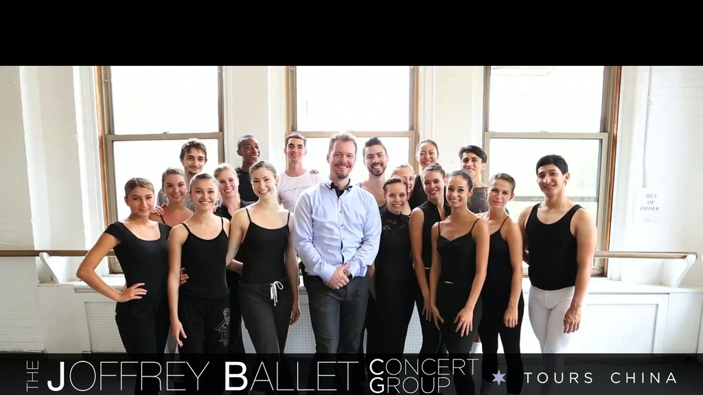 The Joffrey Ballet Concert Group Tours to China project video thumbnail