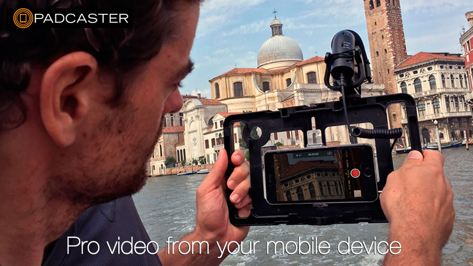 Padcaster VERSE is the first mobile-media case built for iPhone, Android and your favorite tablet, too.