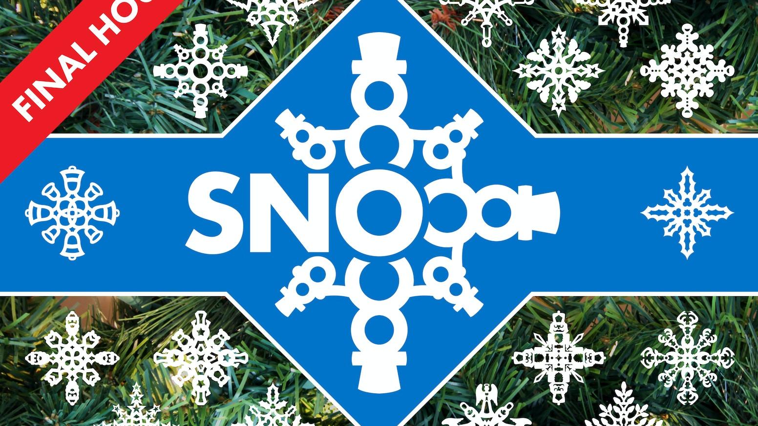 Sno Designer Paper Snowflakes By Toy Rocket Studios Kickstarter