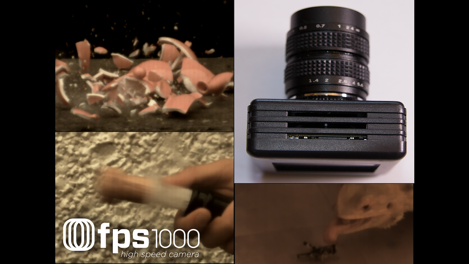 this high frame rate camera takes from 840 to over 10000 frames per second to produce