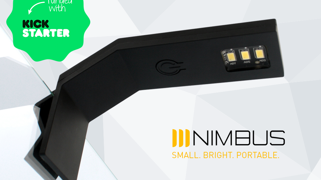 NIMBUS: ultra-functional LED lamp that fits in your pocket project video thumbnail