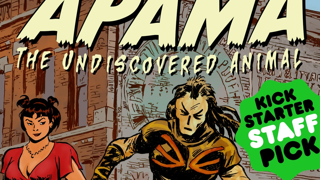 Apama: The Undiscovered Animal, Hardcover, Volume 1 project video thumbnail