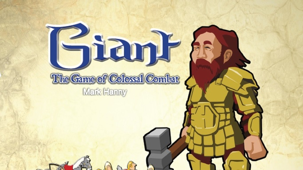 Giant - the game of colossal combat! project video thumbnail