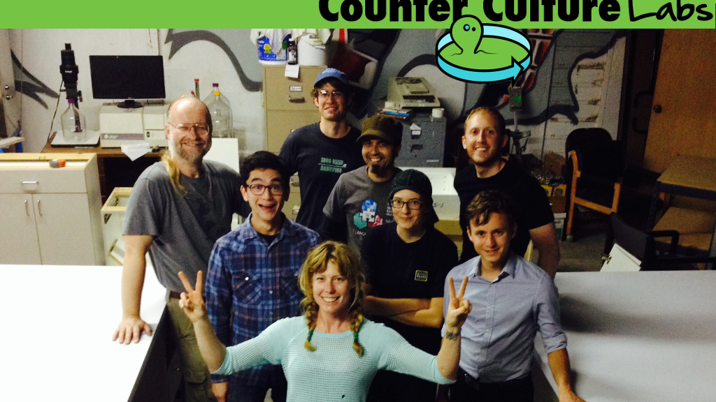 Counter Culture Labs - YOUR biohacking & citizen science lab project video thumbnail
