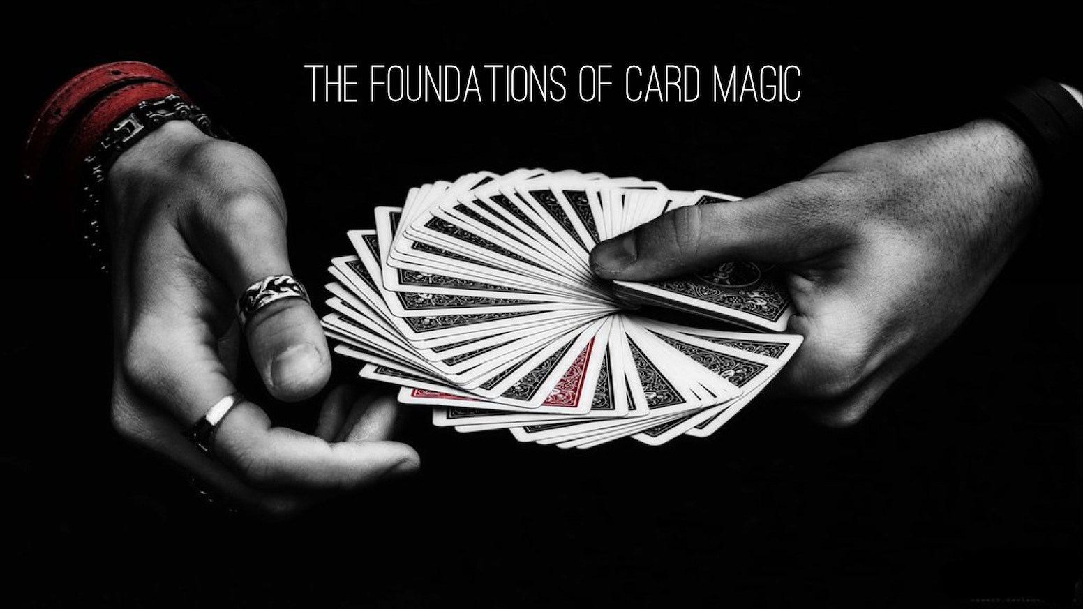 A structured course on powerful and practical card magic.