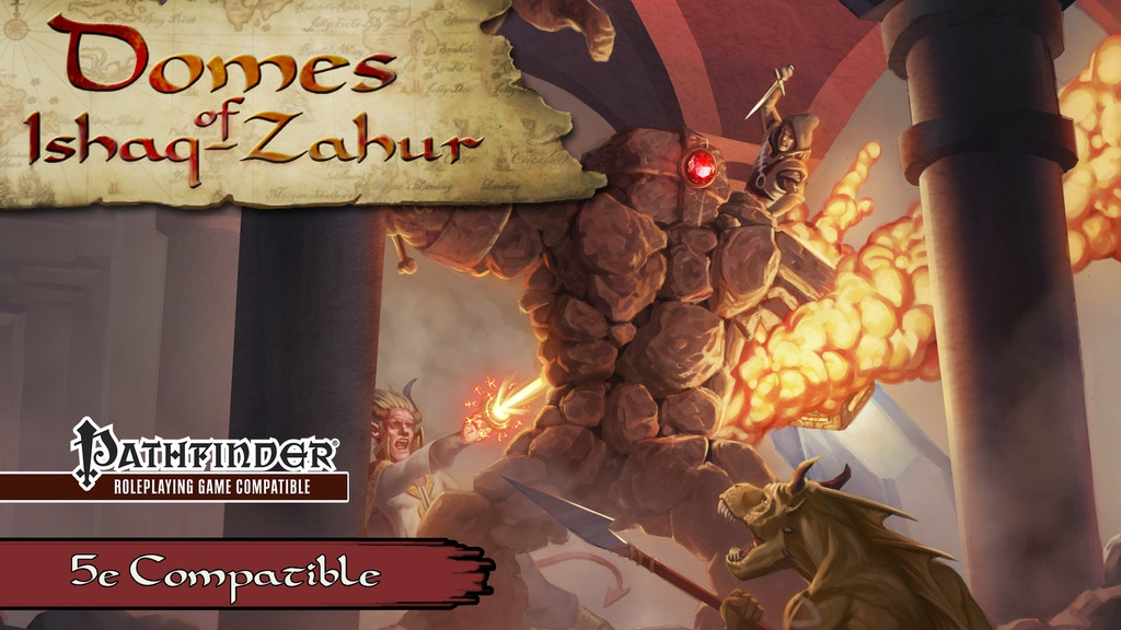 The Domes of Ishaq-Zahur for 5th Edition and Pathfinder! project video thumbnail
