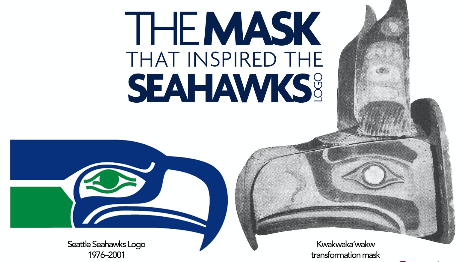 bring the seahawk mask to seattle by burke museum community