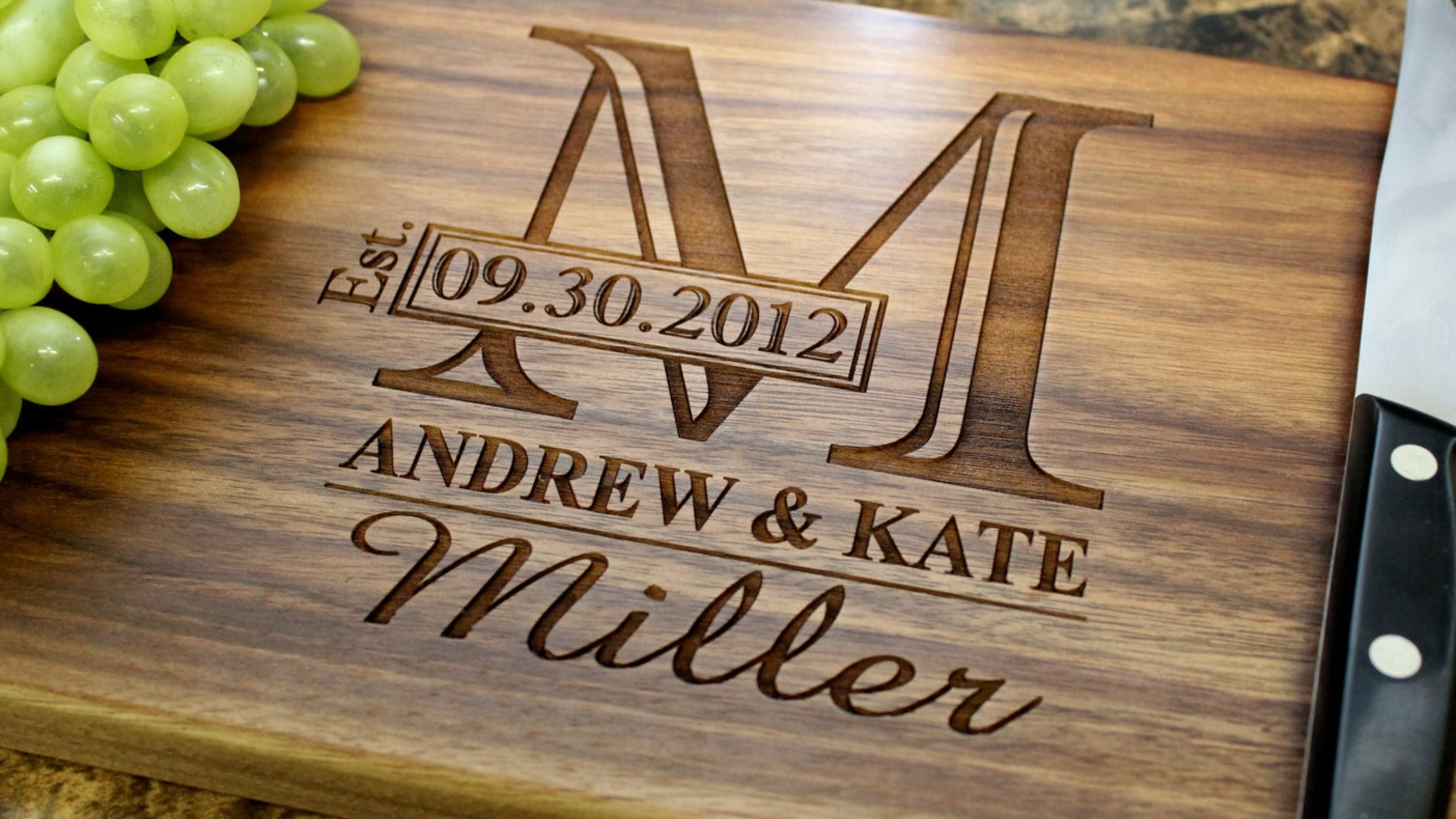 Application to customize artwork for engraving and create memorable cutting  boards for all occasions: Weddings, Anniversaries,Birthdays