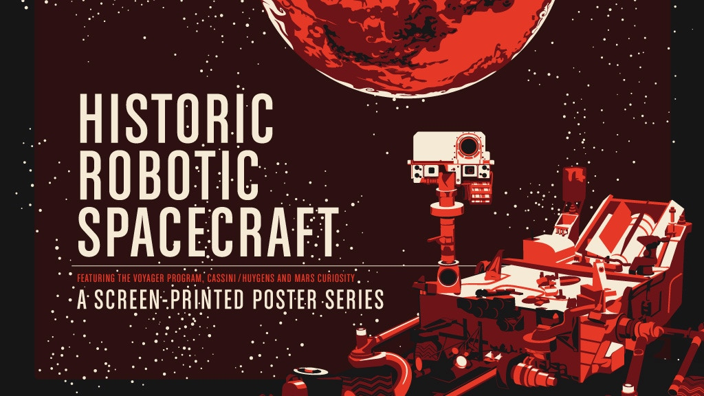Historic Robotic Spacecraft Poster Series project video thumbnail