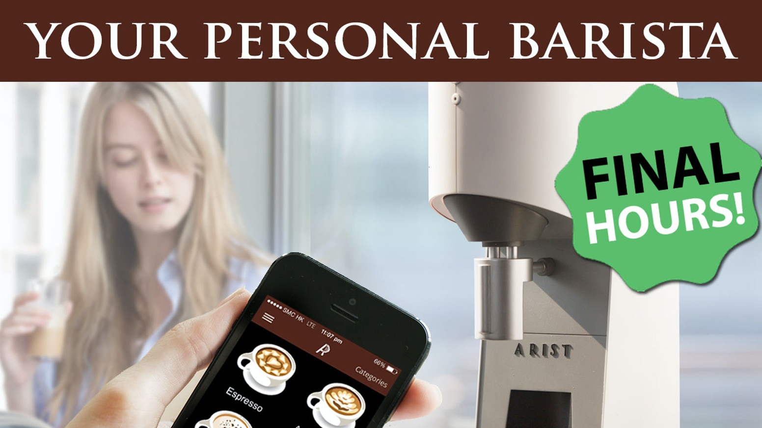 The Arist coffee machine brews coffee like the world's best baristas at the tap of a smartphone.