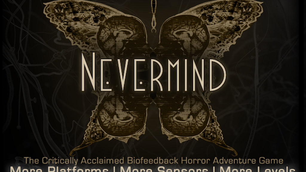 Nevermind: Biofeedback Horror Game project video thumbnail