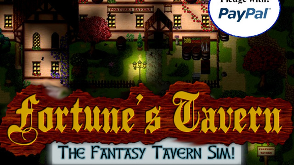 Fortune's Tavern: Fantasy RPG and Tavern Sim! project video thumbnail