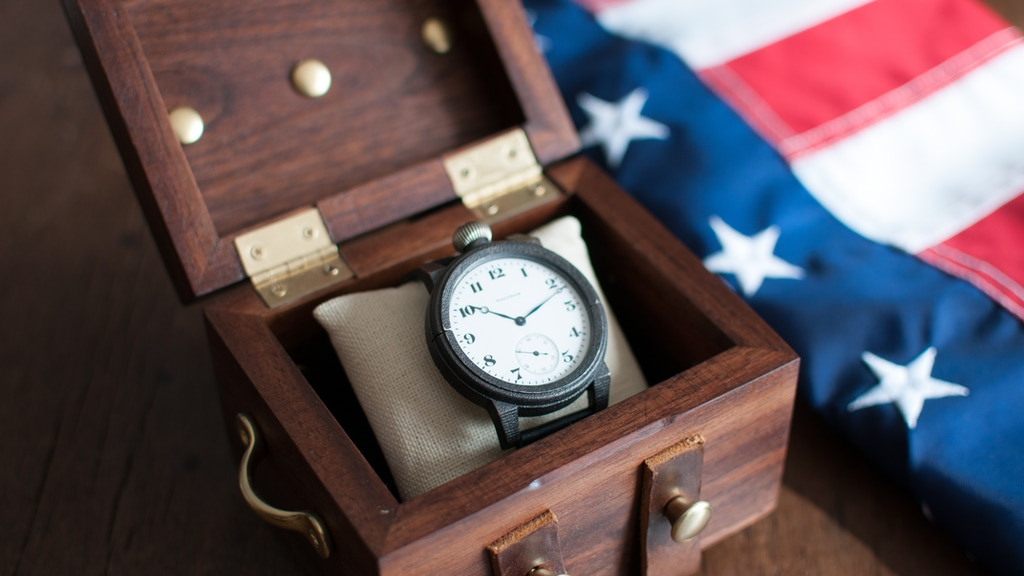 The American Artisan Series - Custom Watches made in the USA project video thumbnail