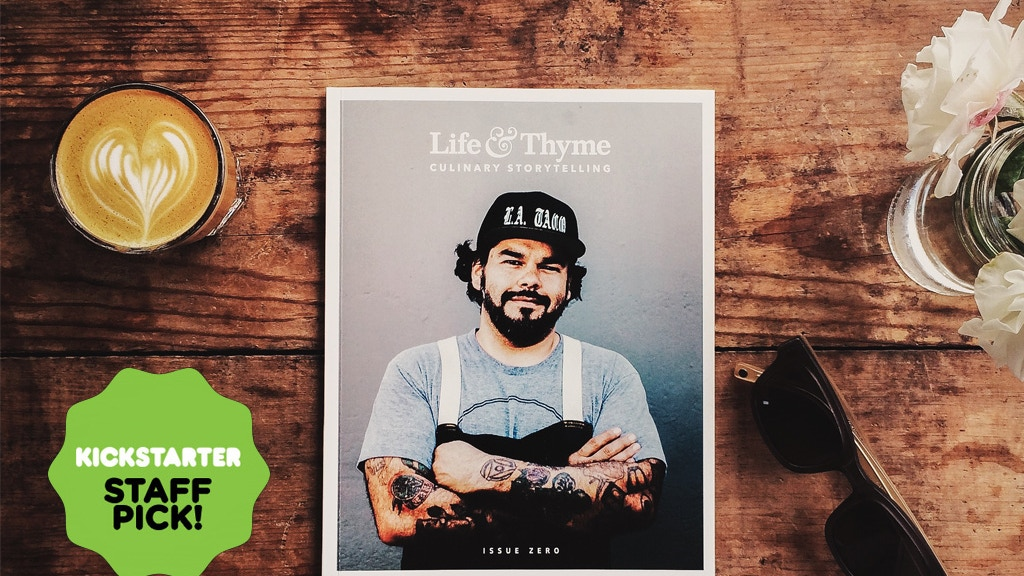 Life & Thyme Magazine Issue 1 project video thumbnail