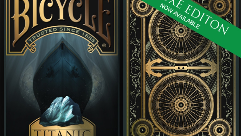 Bicycle® Titanic Playing Cards project video thumbnail