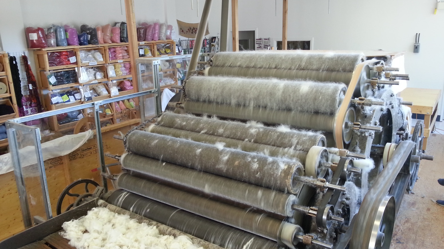 Restore an Historic Wool Picker and Carding Machine by Birkeland