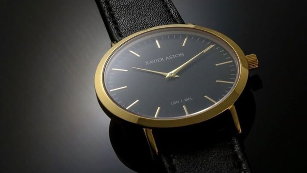 Xavier Aston Watches project video thumbnail