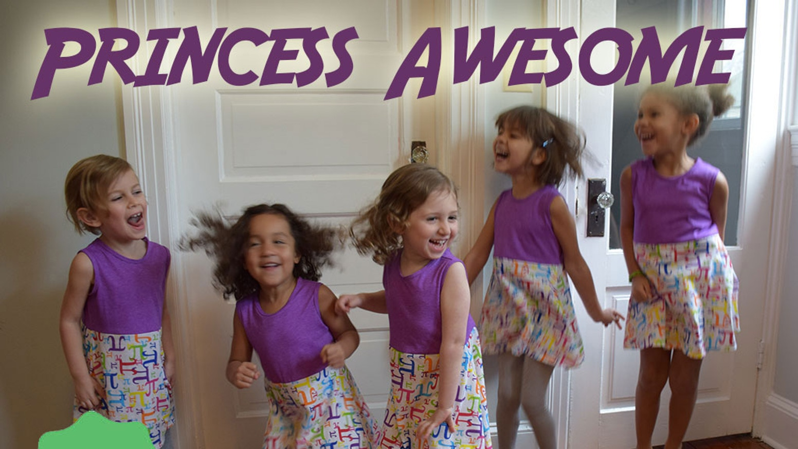 Girls shouldn't have to decide between dresses and dinosaurs or ruffles and robots.  We're a different kind of girly.