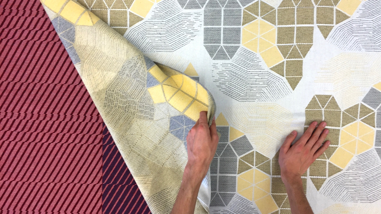 WOVNS allows everyone to turn their digital designs into custom Jacquard-woven fabric, in quantities as small as a single yard.