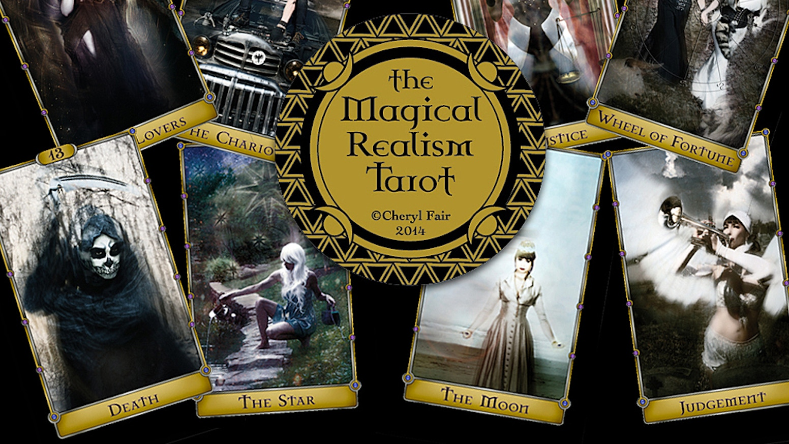 The Magical Realism Tarot art project, became a 78 card printed tarot deck in January 2015.