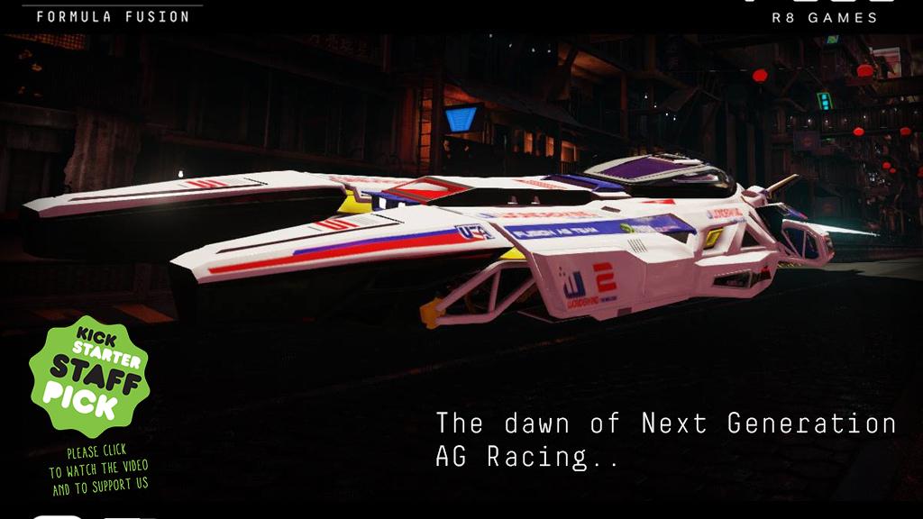 Formula Fusion - Next-Gen Anti-Gravity Racing Game project video thumbnail