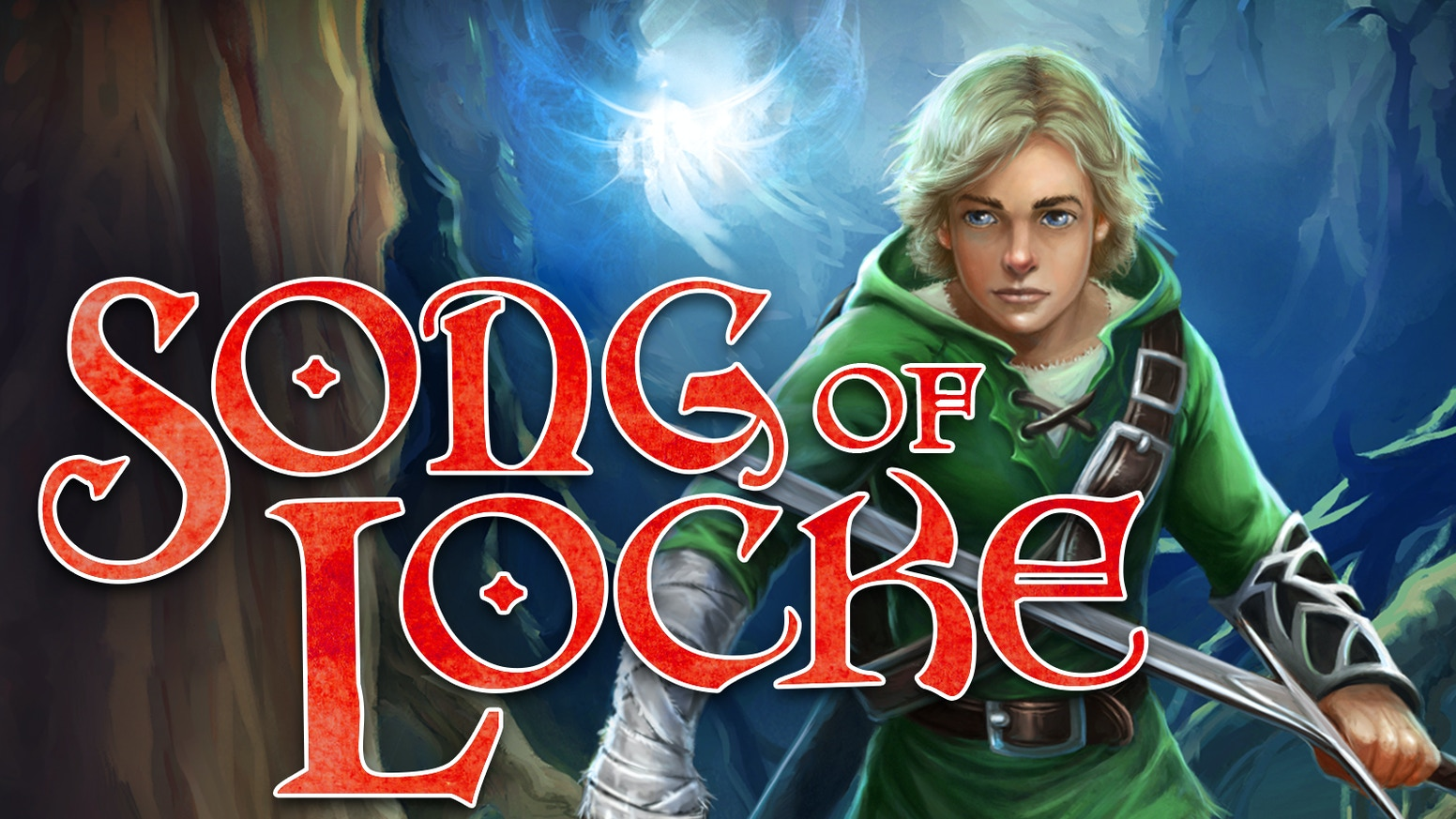 SONG OF LOCKE is a novel about a boy on a quest. It's inspired by Legend of Zelda, and it's written by a student of Brandon Sanderson.