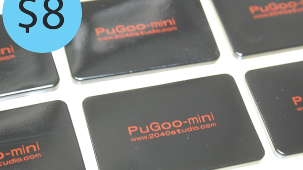 PuGoo Mini - Mount, Create, DIY project video thumbnail