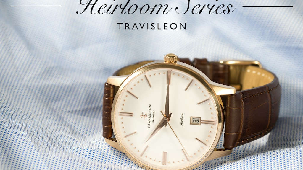 TRAVISLEON: Redefining the smart luxury mechanical watch project video thumbnail