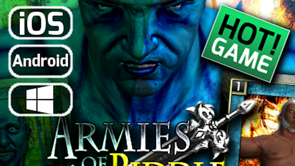 Armies of Riddle Mobile Card RPG Game iOS & Android & Win project video thumbnail