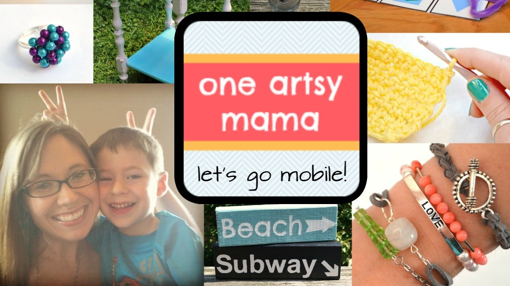 Project image for The One Artsy Mama Mobile App