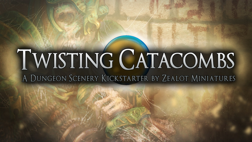Twisting Catacombs . Miniature Dungeon Scenery project video thumbnail