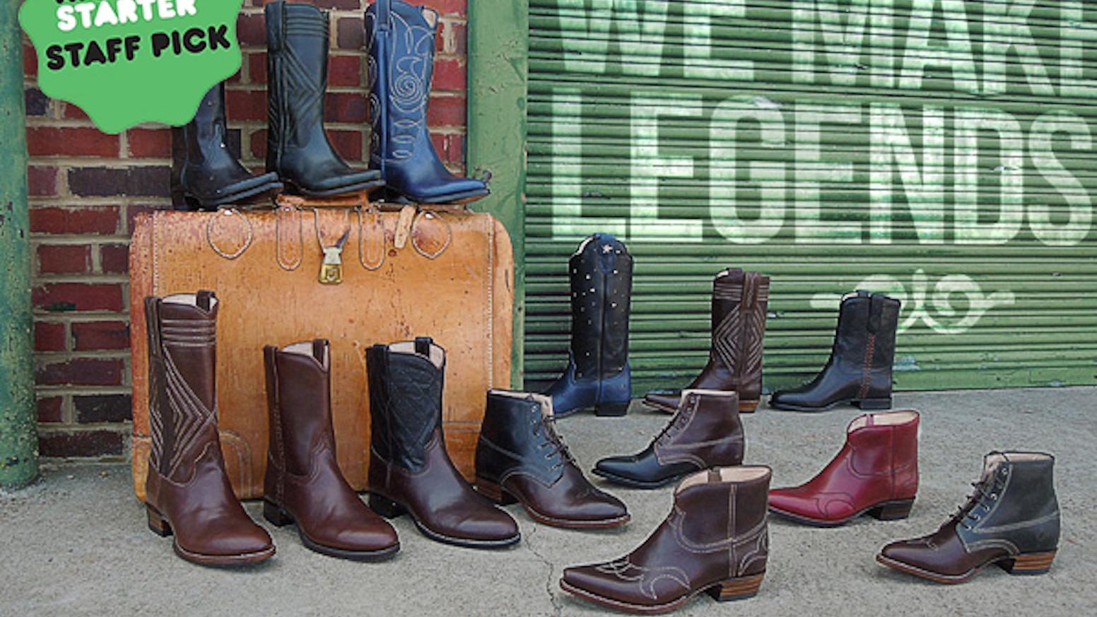 d12ad12c5b37c Ranch Road - We Make Legendary Boots by Sarah Ford — Kickstarter