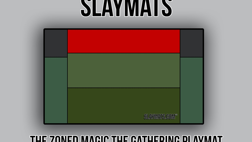 Project image for Slaymats - The Zoned Magic: The Gathering Playmat