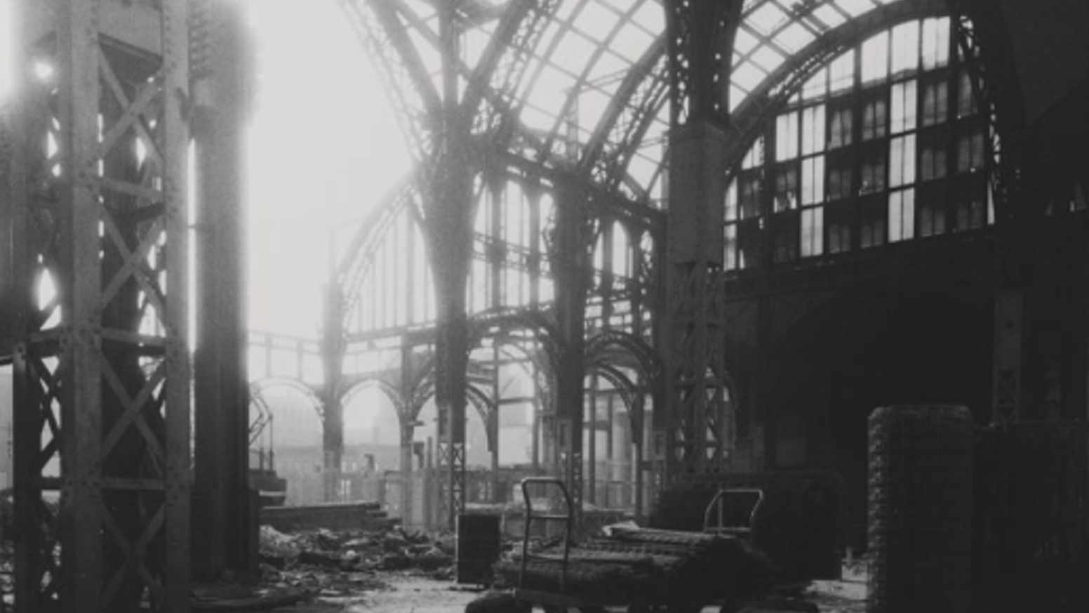 A play that uses photography to tell the story of a friendship forged during the demolition of New York's Pennsylvania Station.