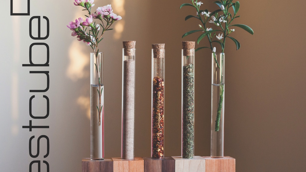 Test Cubes Magnetic Modular Vase And Spice Rack By The Test Cube