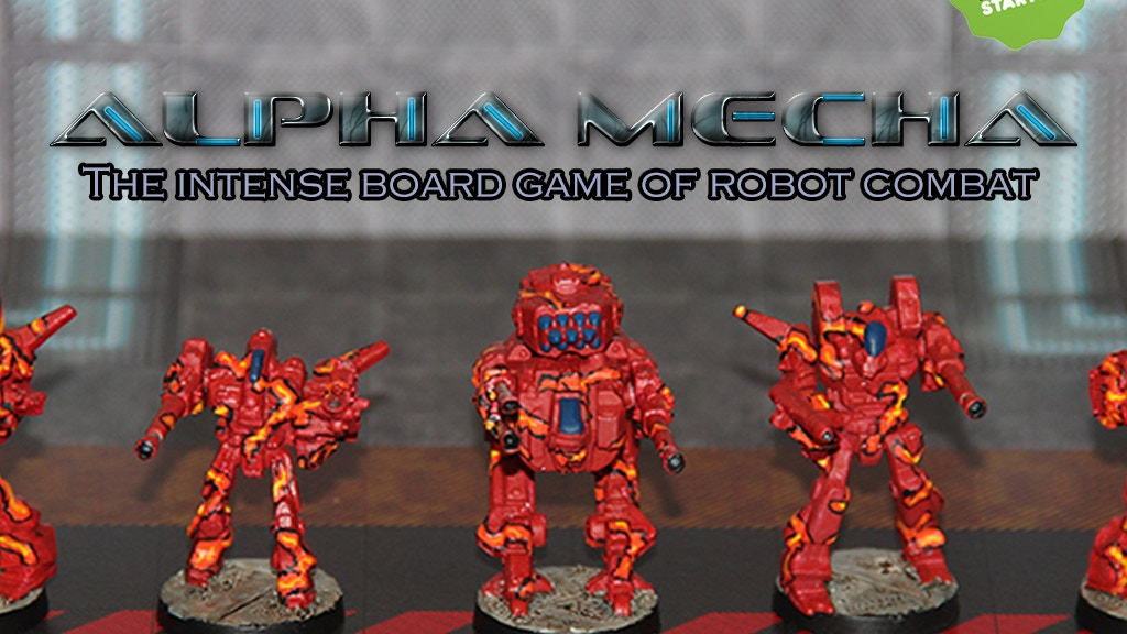 Project image for Alpha Mecha : The Intense Game of Giant Mecha Combat.
