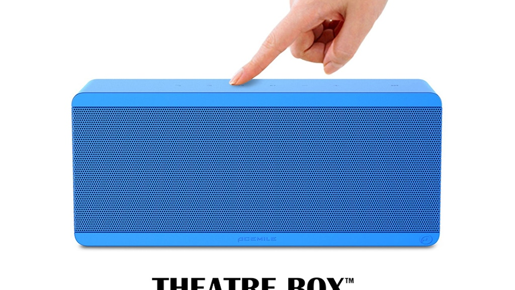 THEATRE BOX - Most Compact Wireless Home Theater  Speaker project video thumbnail