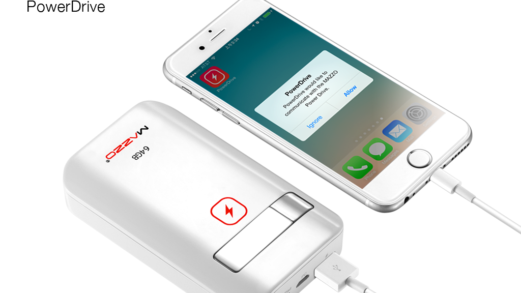 Ending Soon!!! PowerDrive—A Mega USB Drive for iPhone & iPad project video thumbnail