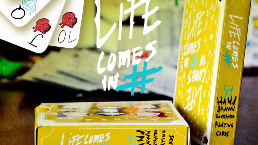 Playing Cards: Life Comes In # project video thumbnail