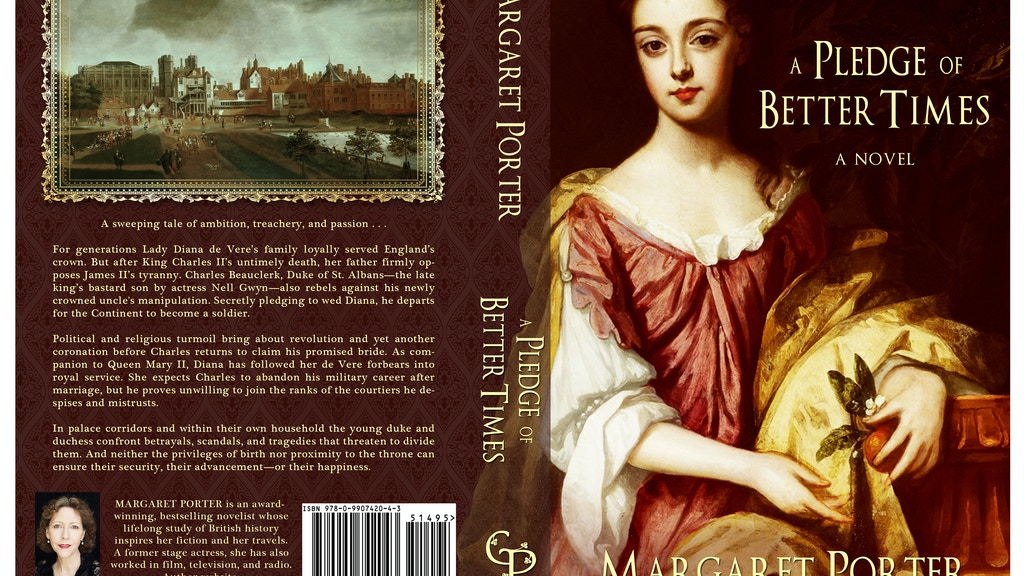 A Pledge of Better Times: promo campaign & book launch project video thumbnail