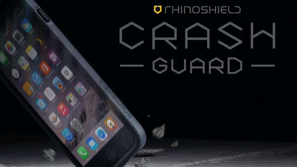RHINOSHIELD Crash Guard: Slim impact Bumper for iPhone5/6/6+ project video thumbnail