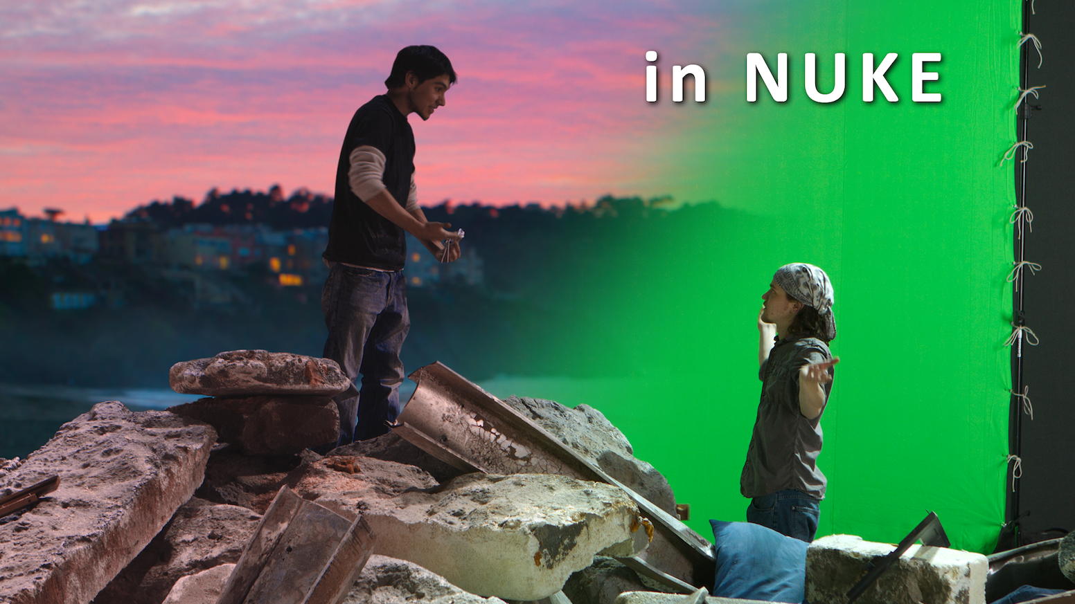 Learn Digital Compositing in Nuke by Aaron Estrada — Kickstarter