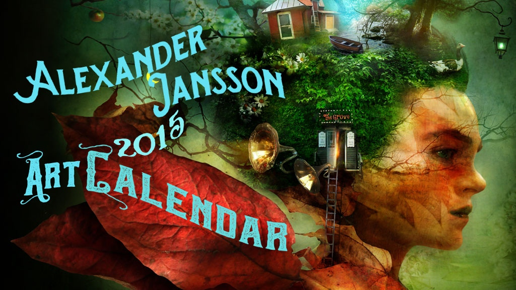 Alexander Jansson 2015 Art Calendar project video thumbnail