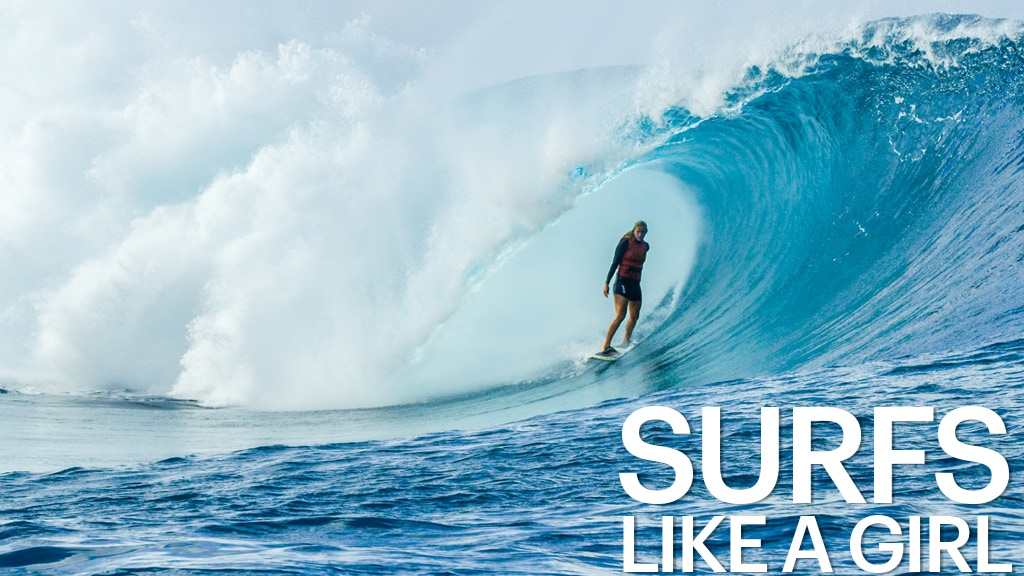 Bethany Hamilton - Surfs Like A Girl project video thumbnail