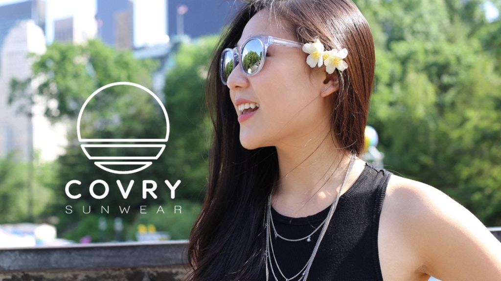 Covry Sunwear: Sunglasses Beyond the Standard Fit project video thumbnail