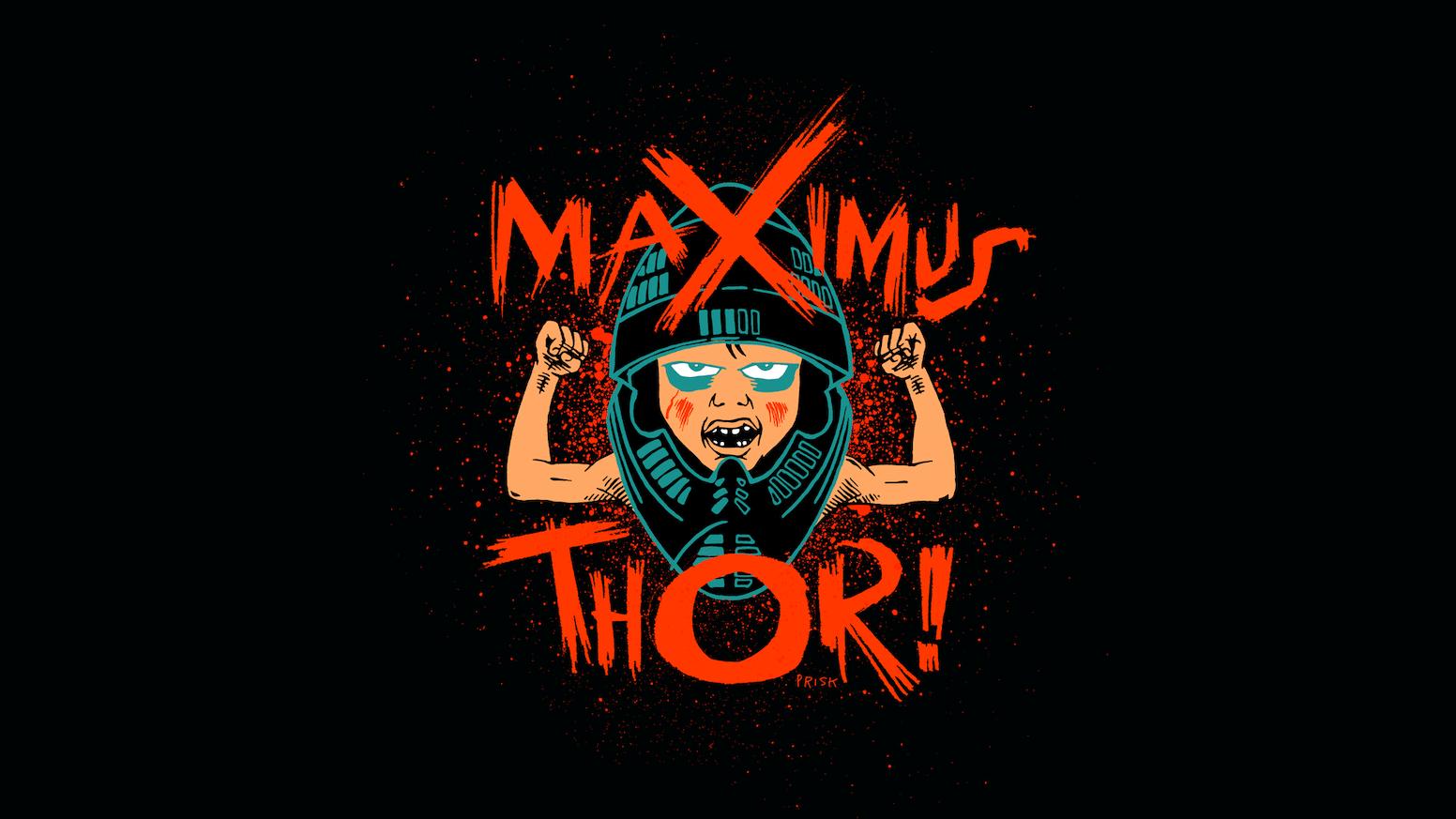 Maximus Thor : Yellow Magic by Sanctified Crack Gorilla ...